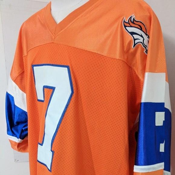 cheap for discount 77dd9 ab963 Denver Broncos NFL QB HOF 7 John Elway Jersey XXXL